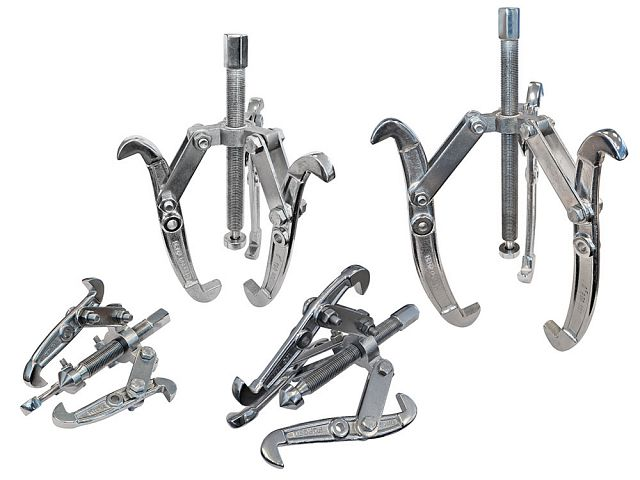 Bearing Puller Four Piece Set