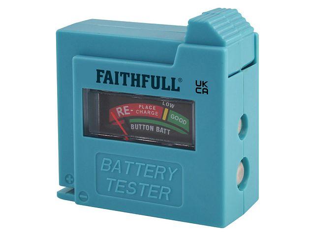 faithfull faidetbat bt1 battery tester for aa aaa c d 9v batteries. Black Bedroom Furniture Sets. Home Design Ideas