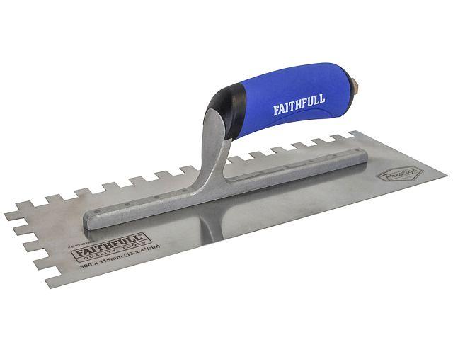 Faithfull Stainless Steel Plasterers Trowel Range