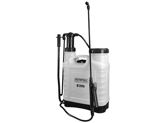 Faithfull SPRAY16AV Pressure Sprayer Knapsack 16L