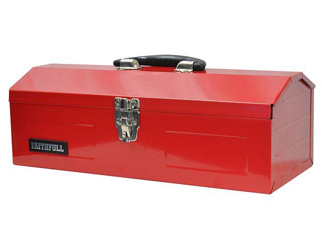 Metal Barn Tool Box 420mm Faithfulltools Com