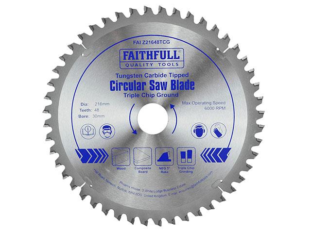 Tct circular saw blade triple chip ground faithfulltools tct circular saw blade triple chip ground greentooth Images