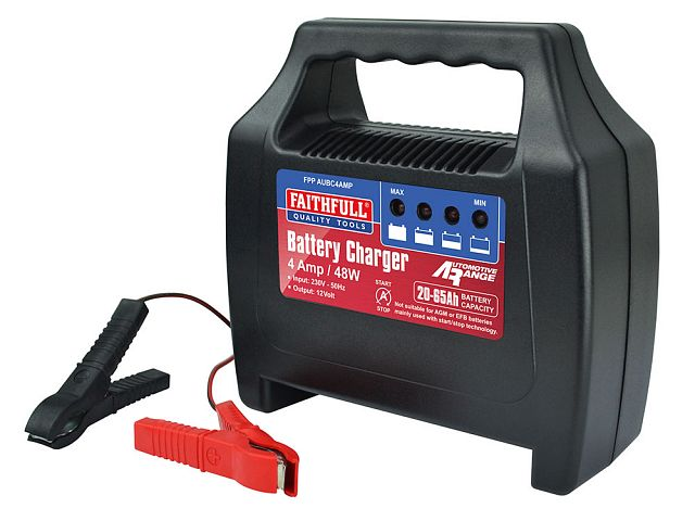 Car Battery Charger 20-65Ah