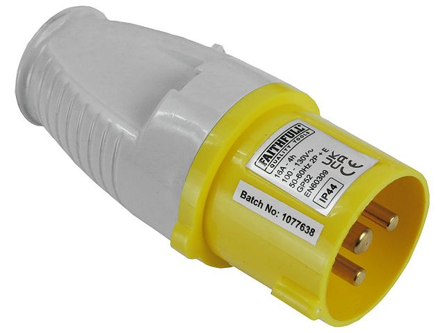 Yellow Plug 110V 16A | FaithfullTools.com