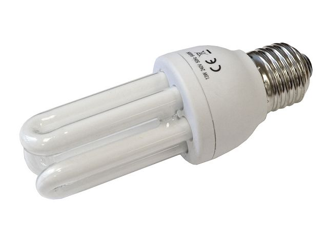 Low Energy Light Bulb 3u E27 13w