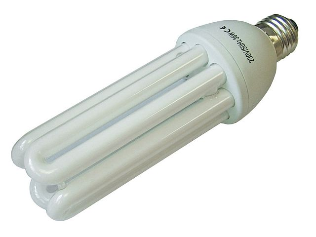 Low Energy Light Bulb 4u E27 36w