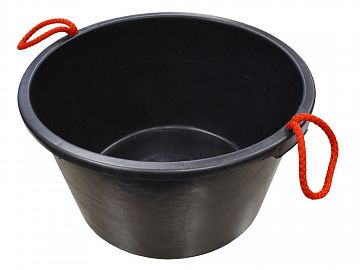 Builders Bucket Black 40 Litre (9 Gallons)