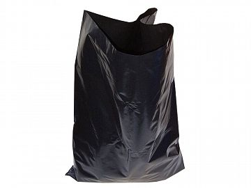 Heavy-Duty Black Refuse Sacks (10) 40 MIC