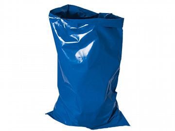 Blue H.D Rubble Sacks 150 MIC