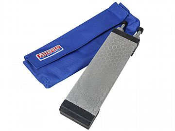 Double Sided Diamond Sharpening Stone with Docking Station