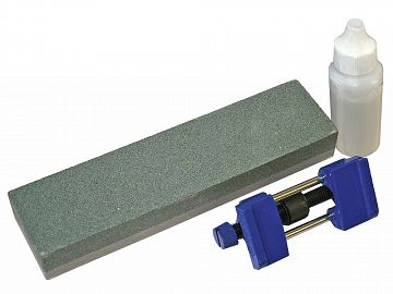 Oilstone 200mm and Honing Guide Kit