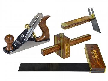 Plane and Woodworking Set 4 Piece