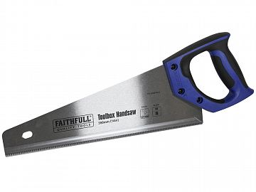 """Tried Tested 405mm//16/"""" Hardpoint Saw Toolbox Hand Saw"""