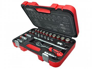 Socket Set 25 Piece 6-24mm 3/8in SqDr