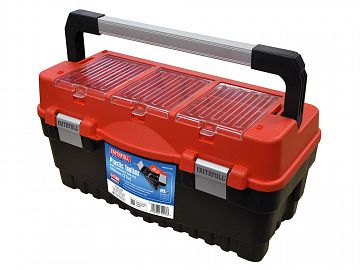 Plastic Toolbox with Cantilever Tote 55cm (21in)
