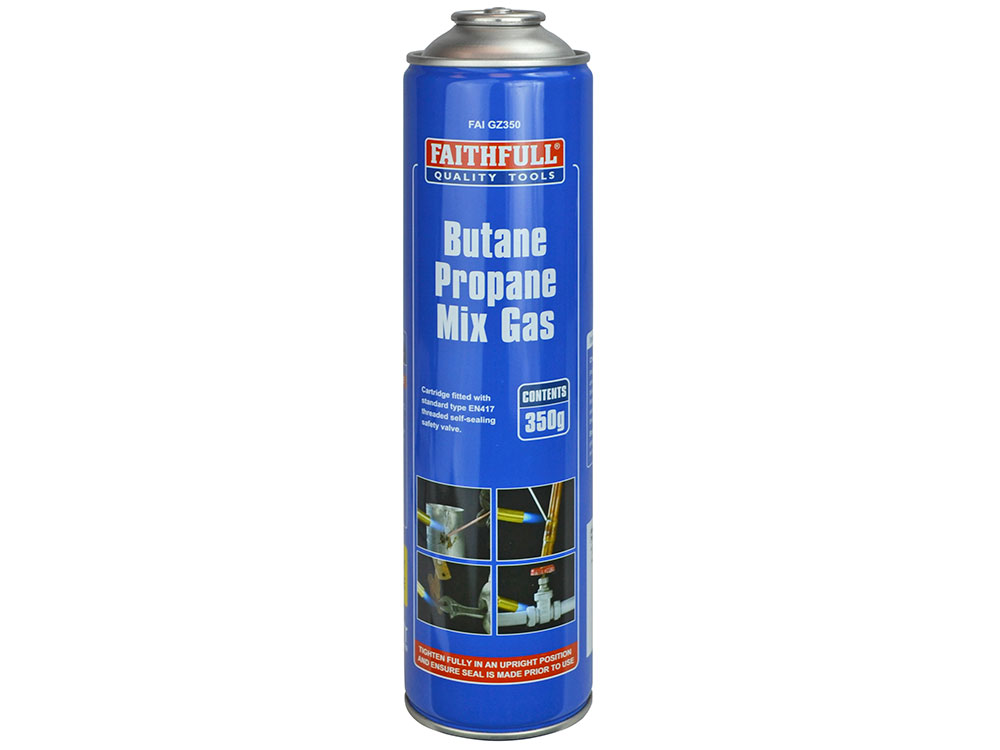 Butane Propane Gas Cartridge 350g   FaithfullTools com