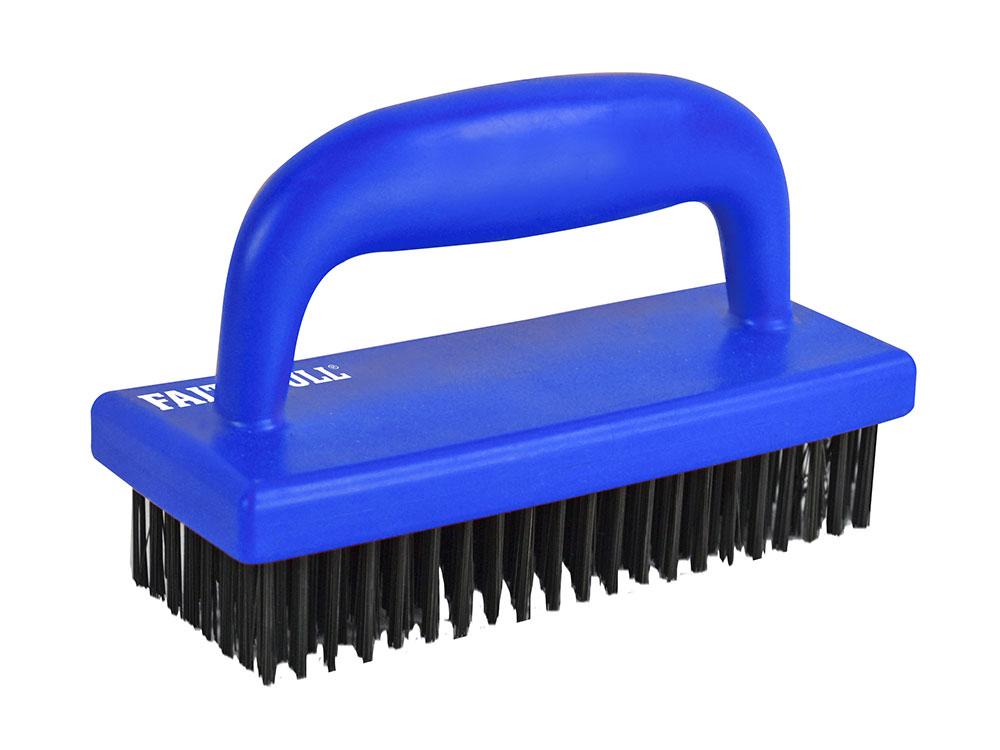 Hand Scrub Brush Carbon Steel Faithfulltools Com