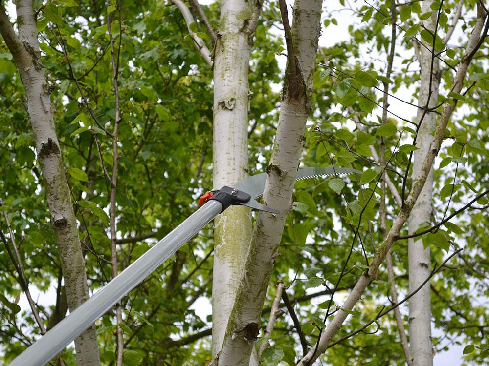 FAITHFULL FAISAMPOLSAW Samurai Tri Cut Pole Saw 390mm