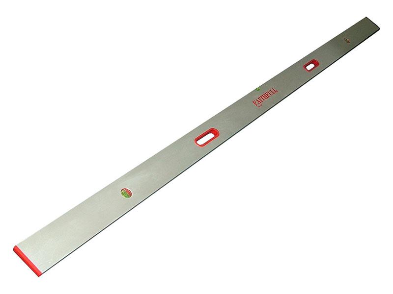 Faithfull FAISL8 Screeding Level 2.4m 8ft 3 Vial /& Grips