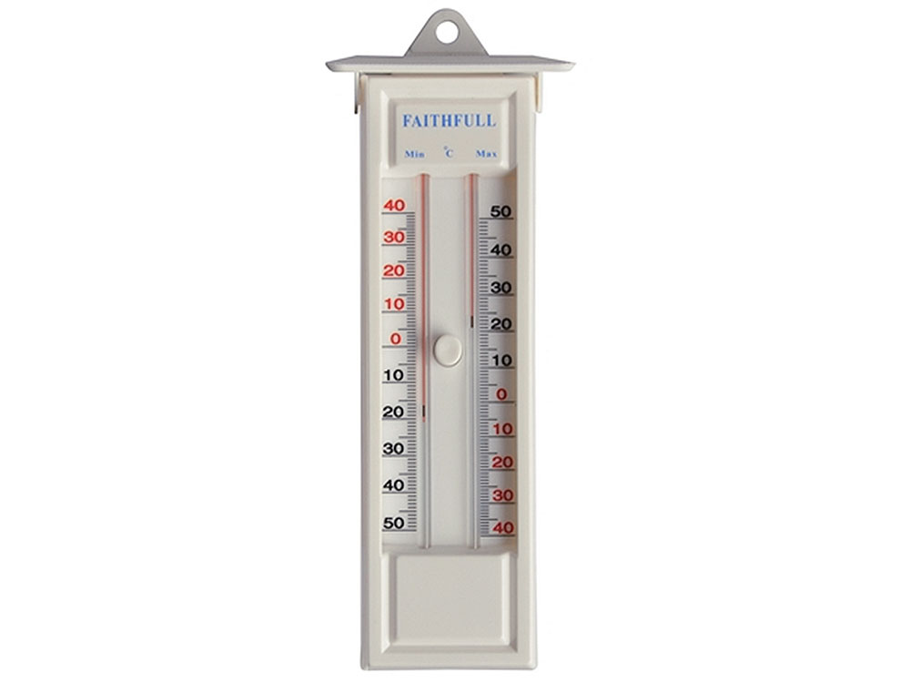 Min Thermometer Dial Max Faithfull